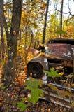 Rusty Car in Providence Canyon stock photos