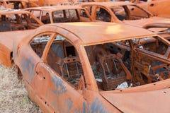 Rusty cars Stock Image