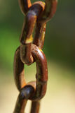 A rusty chain Stock Image