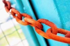 Rusty chain Stock Image