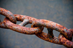 Rusty chain Stock Photos