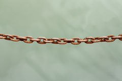 Rusty chain Stock Photography