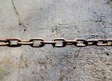Rusty chain Royalty Free Stock Photo