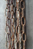 Rusty chain Royalty Free Stock Photos