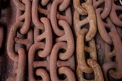 Free Rusty Chain On The Floor. Royalty Free Stock Images - 106888999