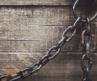 Rusty chain Royalty Free Stock Image