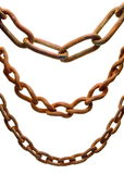 Rusty Chains Royalty Free Stock Photography