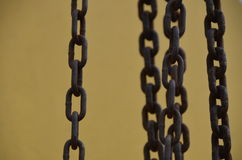 Rusty Chains 3 Imagem de Stock Royalty Free