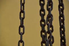 Rusty Chains 3 Image libre de droits