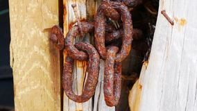 Rusty chains Royalty Free Stock Images