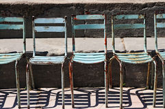 Rusty chairs Royalty Free Stock Image
