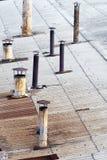 Rusty chimneys Royalty Free Stock Photos