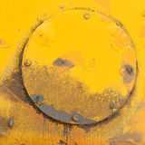 Rusty circle 2 Royalty Free Stock Image