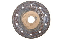 Rusty circular disk Royalty Free Stock Photography