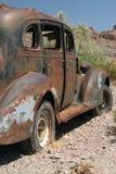 Rusty classic American car stock photos