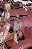 Rusty classic cars Stock Photos