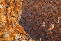 Rusty cloth rag background Stock Photography
