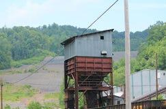 Rusty Coal Tipple Fotografia de Stock Royalty Free