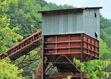 Rusty Coal Tipple Stock Photo