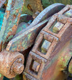 Rusty cog wheel Royalty Free Stock Photo