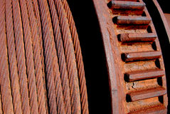 Rusty coil Royalty Free Stock Images