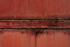 Rusty and color scratched Royalty Free Stock Photo