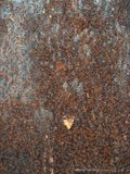Rusty-colored background Royalty Free Stock Photography