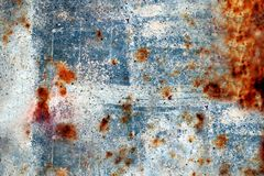 Rusty-colored grunge background Stock Image