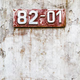 Rusty-colored grunge background Stock Images