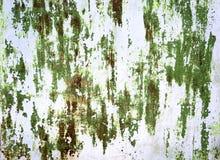 Rusty Colored Metal mit gebrochener Farbe Lizenzfreie Stockfotos
