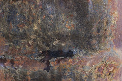 Rusty colorful abstract texture. Rusty colorful original texture og old metal Royalty Free Stock Image