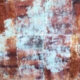 Rusty Colorful Old- und Weinleseschmutzhintergrund, Kopienraum, PO Lizenzfreie Stockfotos