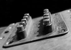 Rusty Combination Lock Stock Image