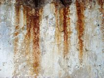 Rusty concerte wall Stock Image