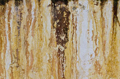 Rusty concrete Royalty Free Stock Photo