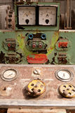 Rusty Control Panel Royalty Free Stock Photography