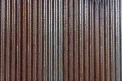 Rusty Corrigated Siding royalty-vrije stock foto