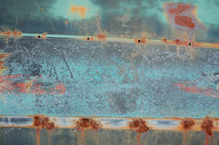 Rusty corroded metal texture background Stock Image