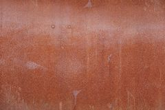 Rusted steel background Royalty Free Stock Photos