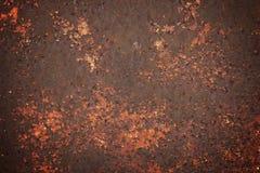 Rusty Corrosion Peeling Metal Stock Photo