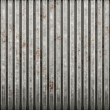 Rusty corrugated iron. Tiles seamless as a pattern vector illustration