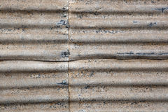 Rusty Corrugated Iron. Great textures for a grunge background Stock Photography