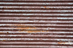 A rusty corrugated iron Stock Photo