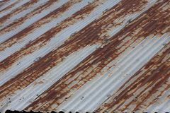 Rusty Corrugated Iron Stock Photos