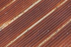 Rusty Corrugated Iron Royalty Free Stock Images