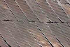Rusty Corrugated Iron Royalty Free Stock Photo