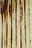A rusty corrugated iron metal Stock Photos
