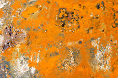 Rusty corrugated iron metal. Texture Royalty Free Stock Photos