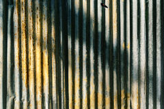 Rusty corrugated iron metal texture Royalty Free Stock Photo