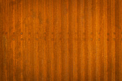 Rusty corrugated iron wall Royalty Free Stock Images
